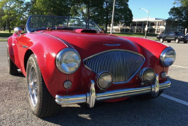 1954 Austin Healey 100-4 with Chevy Corvette Motor