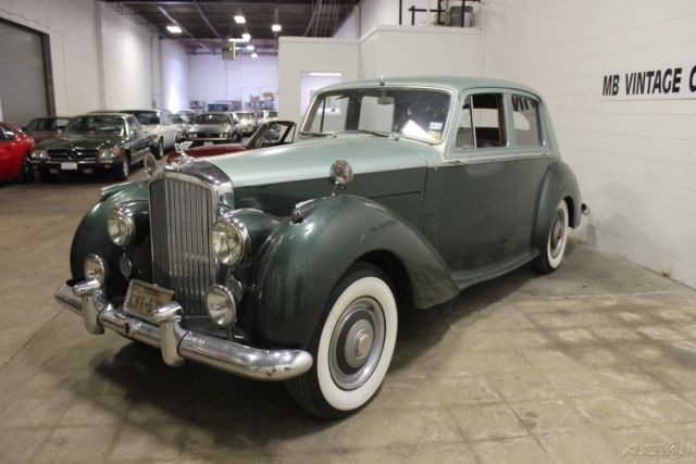 1954 Bentley RType Sedan