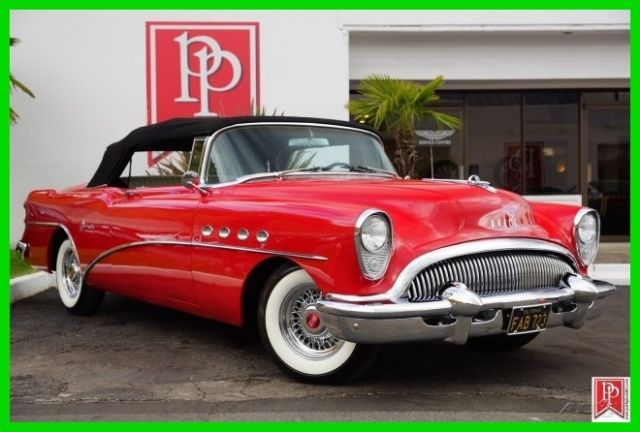 1954 Buick Roadmaster Convertible