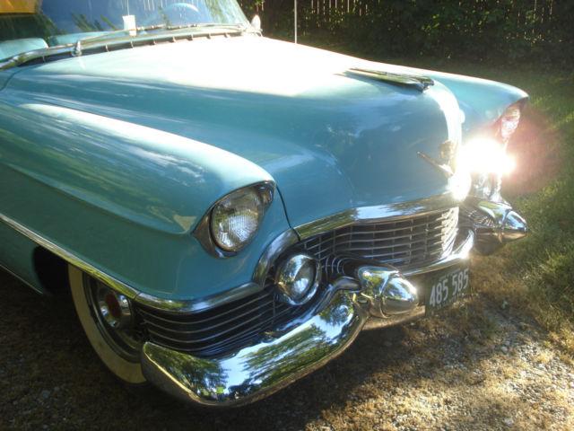 1954 Cadillac Eldorado Convertible 22k Actual Miles True