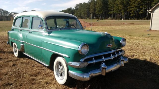 1954 Chevrolet 210 4 Door Station Wagon With Multiple New