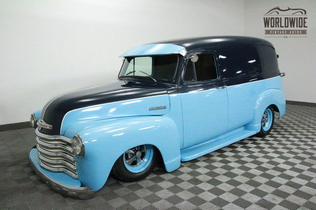 1954 Chevrolet 3100 PANEL RESTORED HOT ROD. FUEL INJECTION! AIR RIDE!
