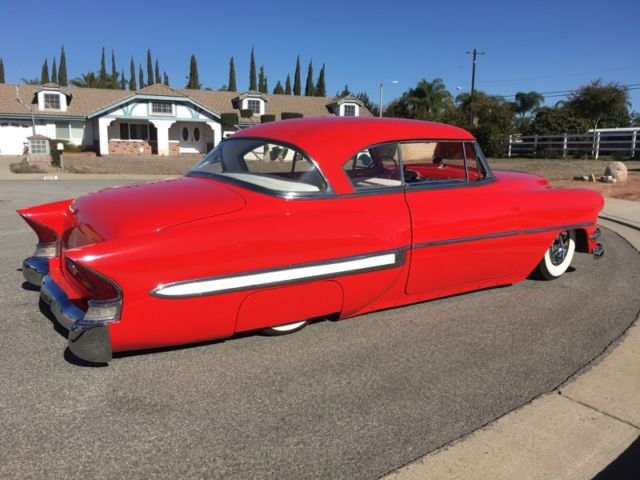 1954 chevrolet bel air 2 door hardtop air bagged kustom