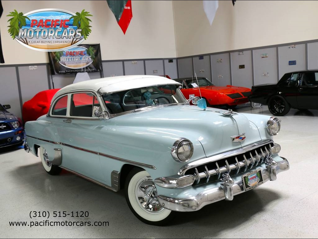 1954 Chevrolet Bel Air 150 210 Manual 2 Door Coupe Beautiful For 1966 Value