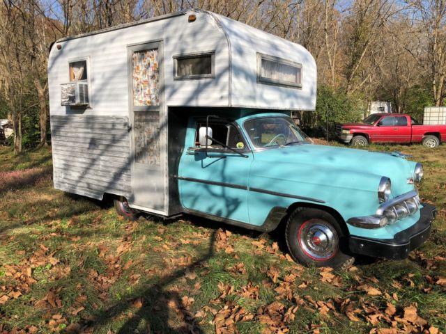 1954 Chevrolet Belair House Car vintage camper hot rod