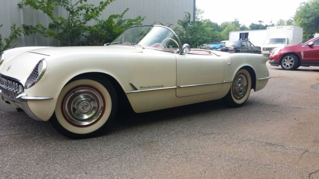 1954 Chevrolet Corvette convertable
