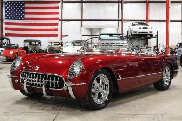 1954 chevrolet corvette 585 miles candy apple red metallic 73 Nova Orange 1954 chevrolet corvette 585 miles candy apple red metallic convertible ls3 v8 5