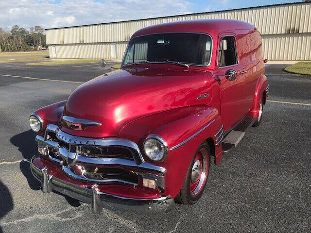 1954 Other Color Chevrolet 3100 Panel Pickup Truck with Gray interior