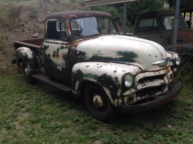 1954 chevrolet pickup truck barn find with great patina for sale photos technical. Black Bedroom Furniture Sets. Home Design Ideas