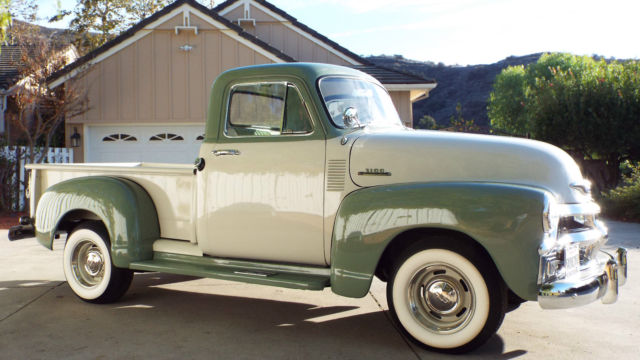 1954 chevrolet pickupno reservepristine california truck for