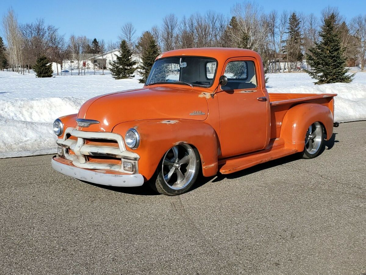 1954 Chevy 3100 Custom Pickup Truck Street Rod Rat Rod Patina For Sale Photos Technical Specifications Description