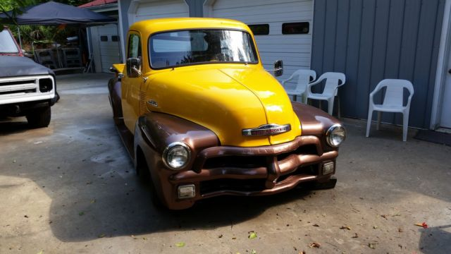 1954 chevy 5 window pickup for sale photos technical