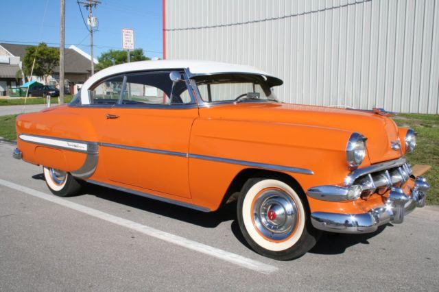 1954 Chevy Bel Air 2 Door Hardtop For Sale Photos Technical
