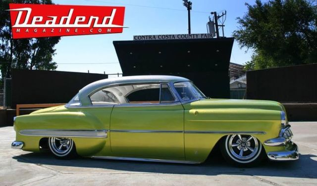 West Coast Custom Cars For Sale >> 1954 Chevy Bel Air custom, hard top, bagged, metal flake for sale: photos, technical ...