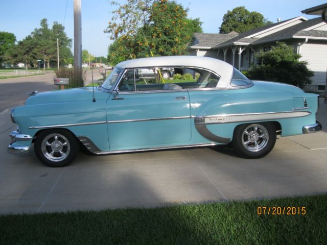 1954 chevy belair 2 dr hardtop for sale photos technical for 1954 chevy 2 door hardtop