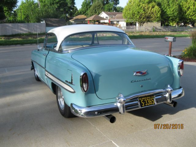 1954 chevy bel air with a 350 v8 autos post for 1954 chevy belair 2 door for sale