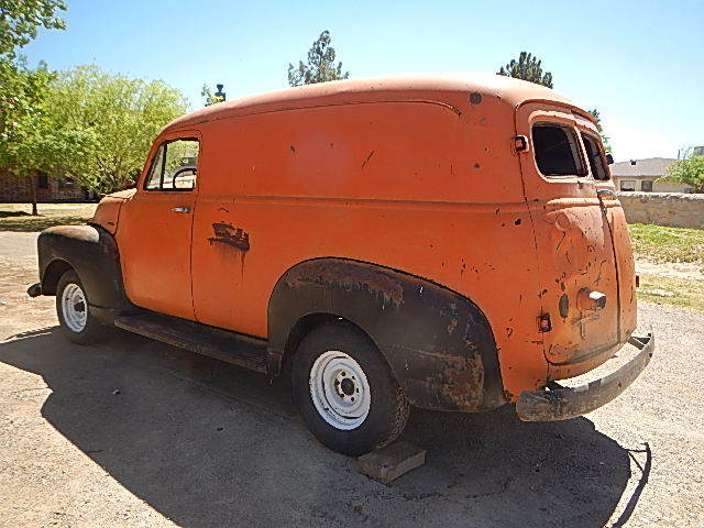 1954 Chevrolet Other Pickups Panel Delivery Truck