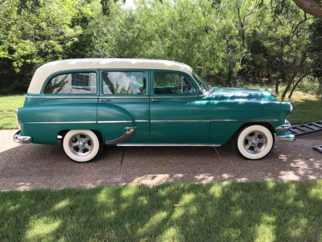 1954 Chevy Station Wagon for sale: photos, technical