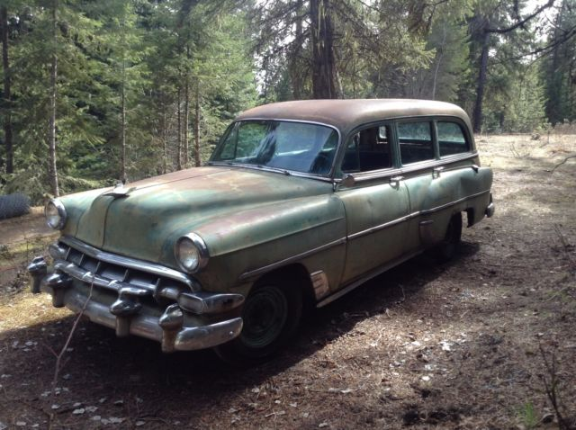 1954 Chevy Station Wagon Handyman 210 54 Rare! for sale
