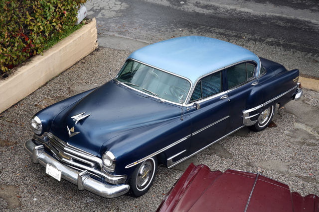 1954 chrysler new yorker deluxe 331 hemi v8 235hp for sale photos technical specifications. Black Bedroom Furniture Sets. Home Design Ideas