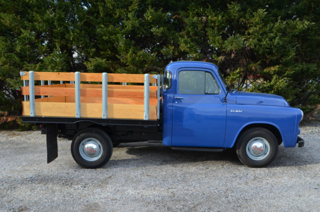 1954 dodge 3 4 ton pickup job rated stake body mopar for sale photos technical. Black Bedroom Furniture Sets. Home Design Ideas