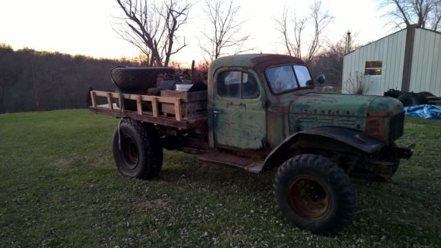 1954 dodge power wagon wdx wm300 4x4 for sale photos technical. Cars Review. Best American Auto & Cars Review