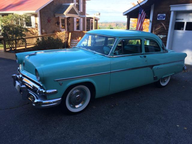 1954 Ford Customline Base 239 V8 MANUAL 3 SPD W/OVERDRIVE