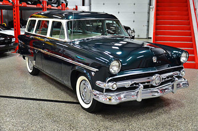 1954 ford customline country station wagon rare v8 third row seat country squire for sale. Black Bedroom Furniture Sets. Home Design Ideas