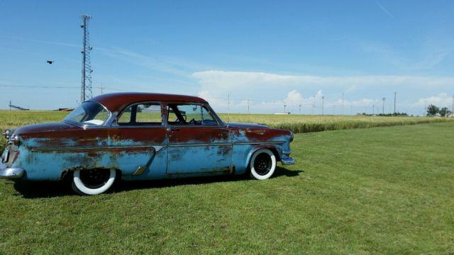 1954 Ford CustomlinePatina Hot Rod for sale photos