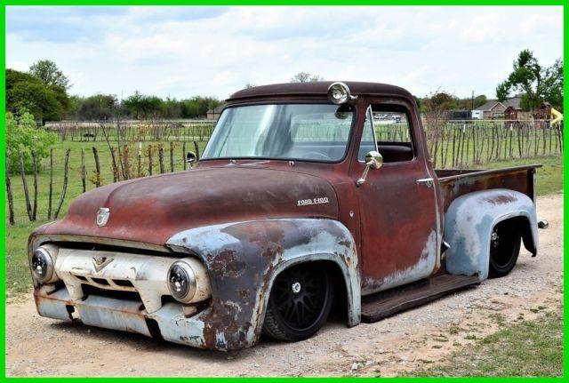 1954 Ford F100 Custom Truck, LS Swap, Air Ride, AC, Patina