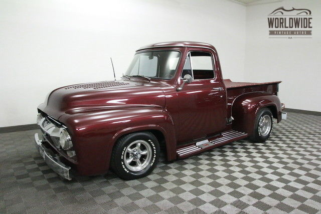 1954 Ford F-100 RESTORED. AC. DISC BRAKES. 351 V8. HIGH END!
