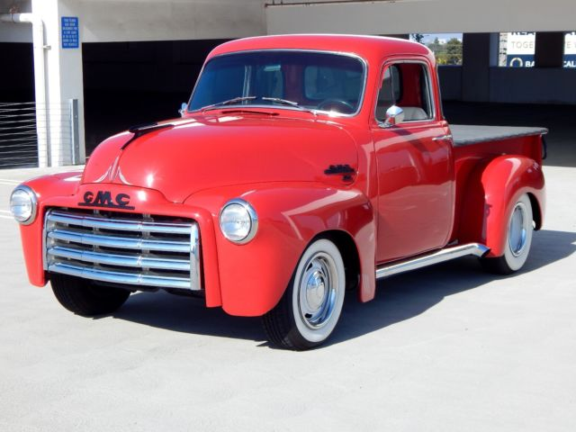 1954 GMC 100 - 5 Window Half Ton Pickup - Custom Restomod - 350 V8 - AC Auto