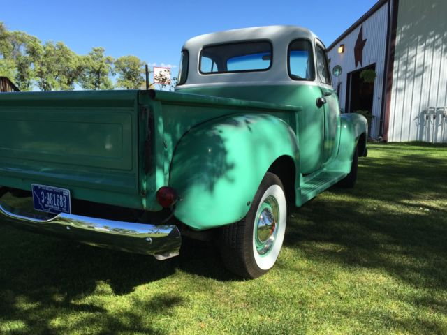 1954 gmc 5 window cab pick up for sale photos