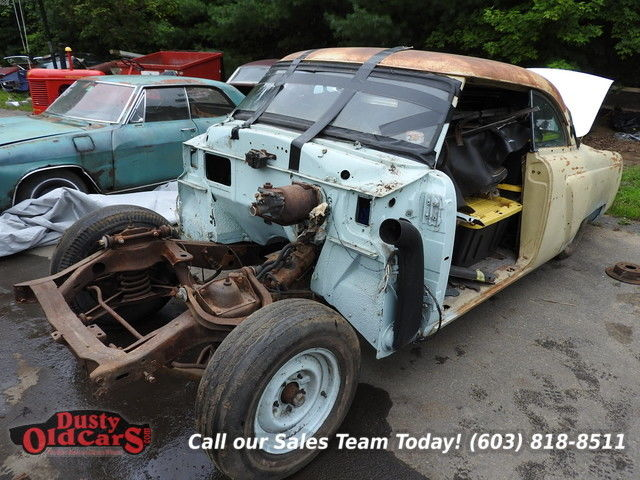 1954 Lincoln Capri Parts Cars for Resto Project