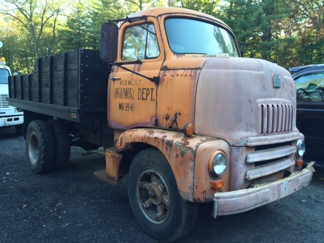 1954 International Harvester COE cabover snubnose dump ...