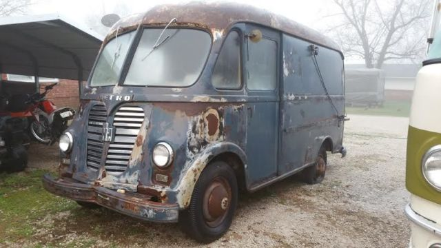 1954 international metro delivery van rare automatic for sale photos technical specifications. Black Bedroom Furniture Sets. Home Design Ideas