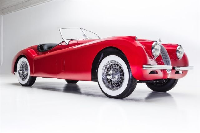 1954 Jaguar XK SE, Roadster