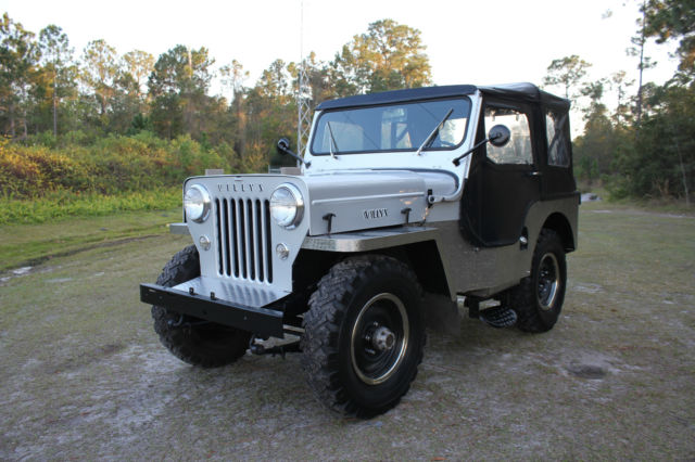 1954 Jeep Other Willys CJ-3 Jeep CJ3 High Hood Look