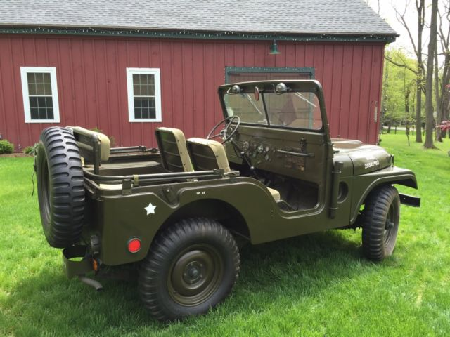1954 m38a1 military jeep for sale photos technical specifications description. Black Bedroom Furniture Sets. Home Design Ideas