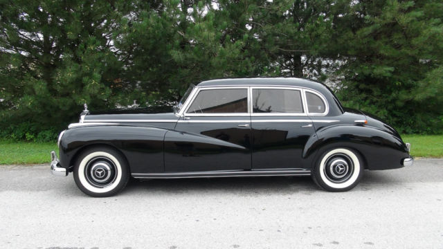 "Mercedes Benz Lease >> 1954 Mercedes-Benz 300 ""Adenauer"" - Dual Carb, 4-Speed ..."