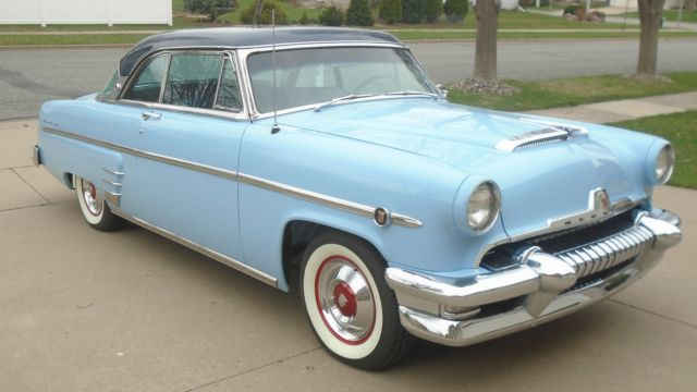 1954 Blue Mercury Monterey 2dr hardtop with Blue interior