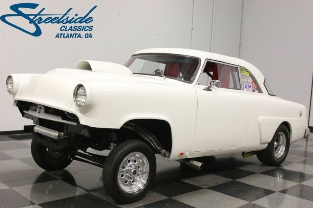 1954 Mercury Monterey Gasser 1545 Miles White Coupe 283 V8 Automatic ...