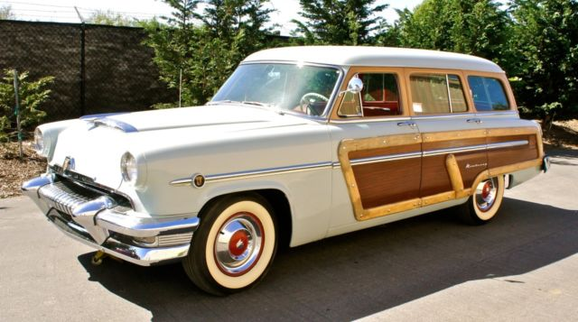1954 mercury monterey woody wagon iconic 50 39 s american styling for sale photos technical