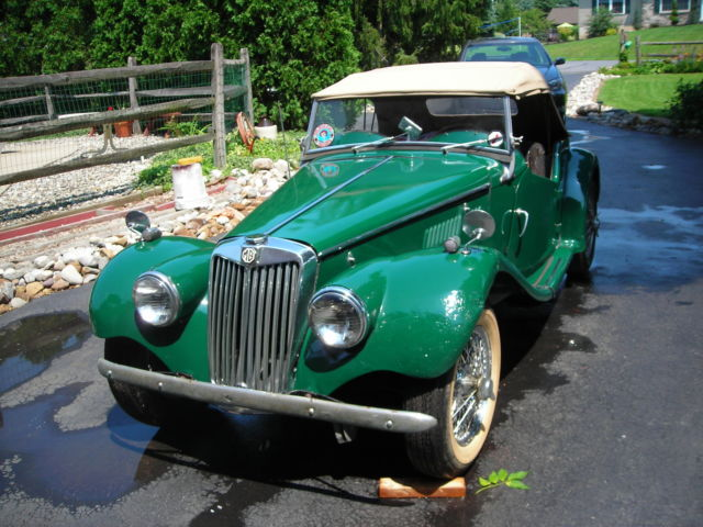 1954 MG T-Series TF