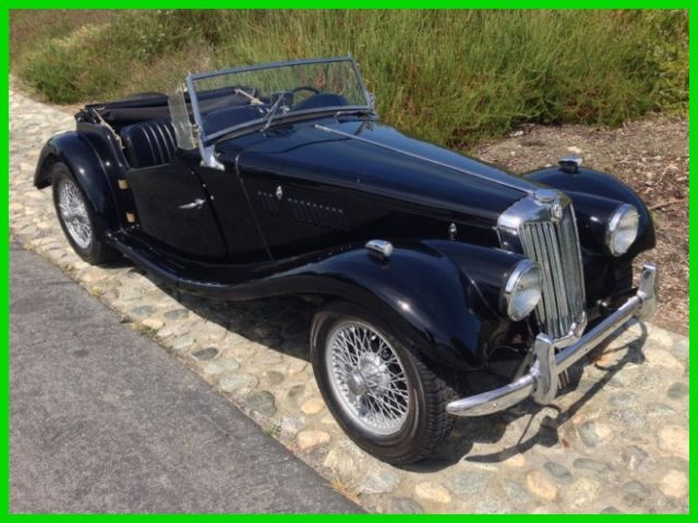 1954 Mg Tf 1250 Roadster Wire Wheels 4 Speed Matching Number
