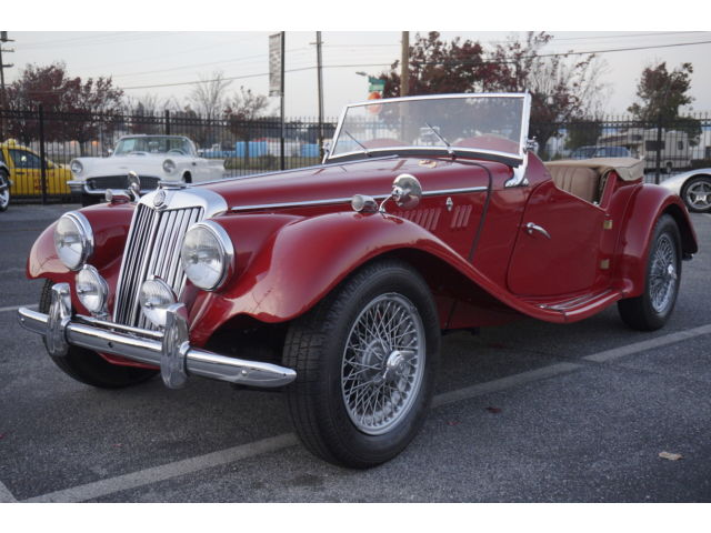 1954 MG T-Series ROADSTER