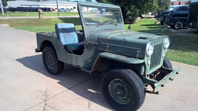 1954 Willys Cj3-B