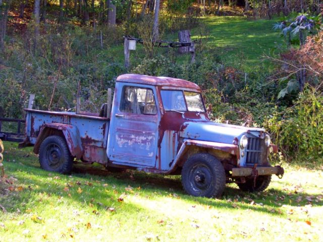 1954 Willys Jeep Pick Up Truck