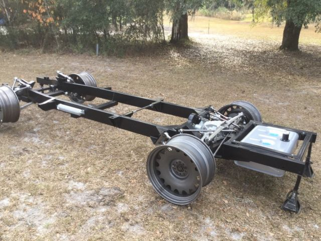 1955-1959 Chevy Pickup Chassis with Corvette Suspension for sale: photos, technical ...