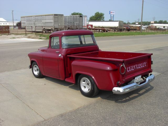 1955 56 57 chevy chevrolet pickup pu truck 3100 1 2 ton short box step side 350 for sale photos. Black Bedroom Furniture Sets. Home Design Ideas